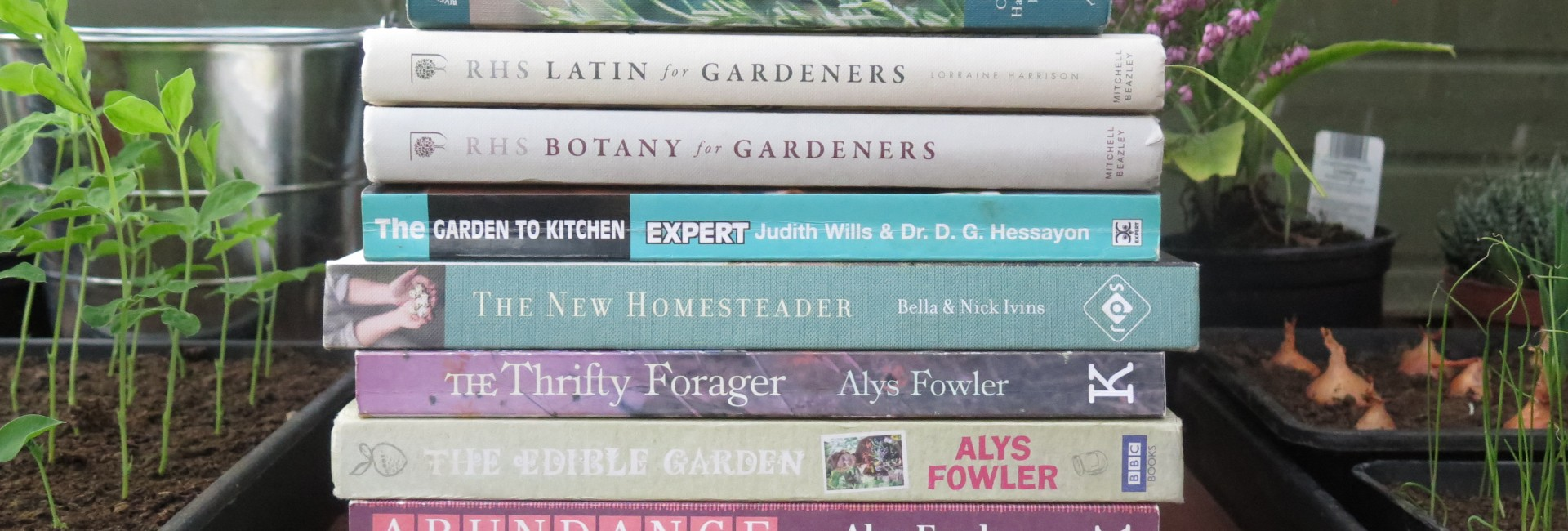 A Few of my Favourite Gardening Books