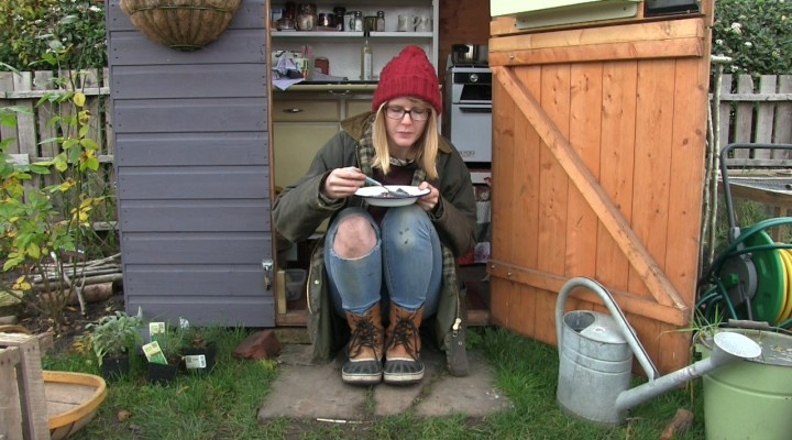 The Allotment Kitchen: Red Cabbage, Sausage and Bean Soup