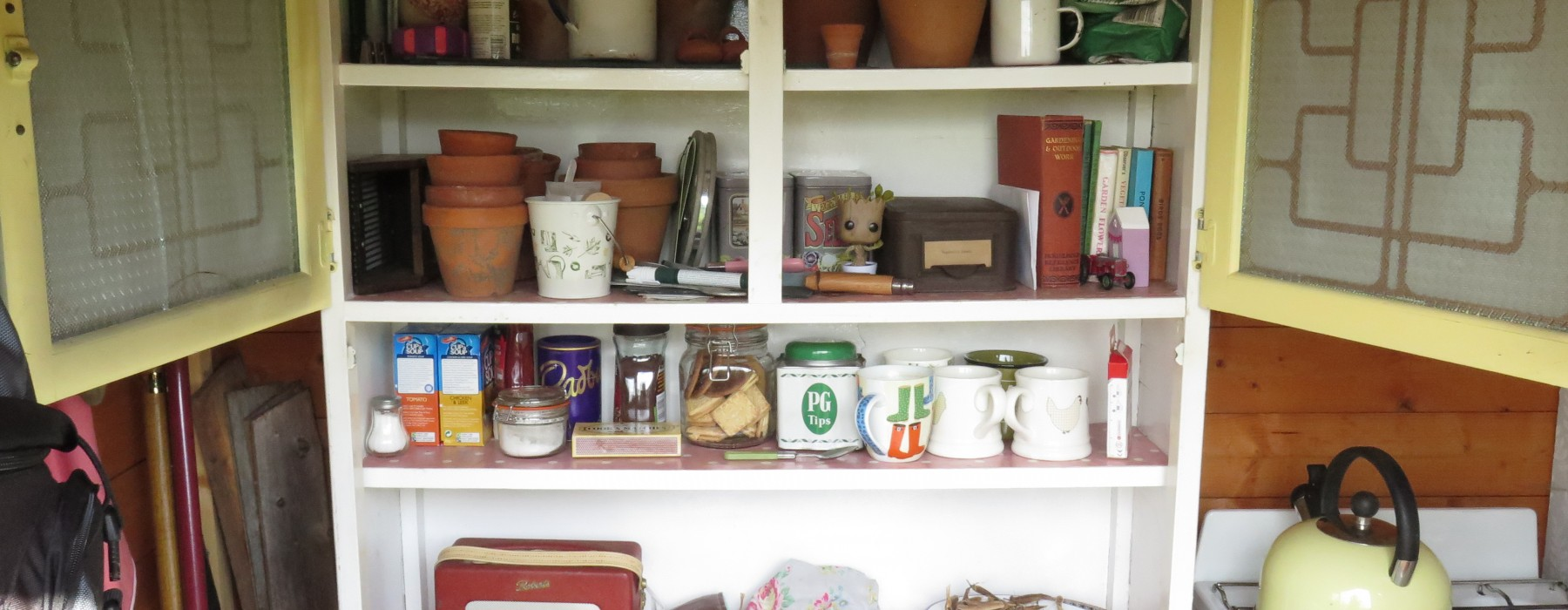 The Purple Potting Shed