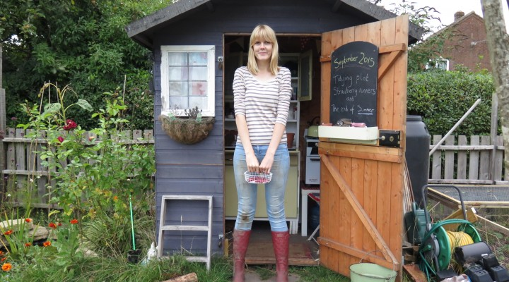 September 2015 – Tidying, Strawberry Runners and Thinning Out