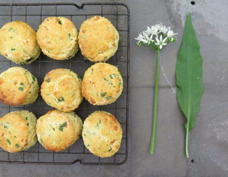 The Allotment Kitchen – Wild Garlic – Scones and Pesto