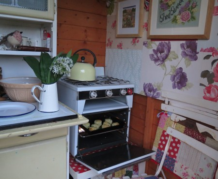 The Little Purple Potting Shed Cafe