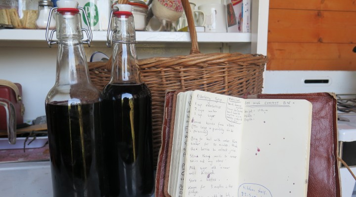 The Allotment Kitchen – Elderberry Syrup