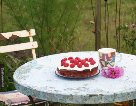 The Allotment Kitchen – Raspberry Cake