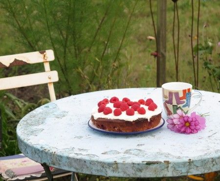 The Allotment Kitchen – Raspberry Cake