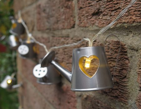 Watering Can String Lights