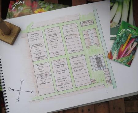 Plot 2B Allotment Plan 2017
