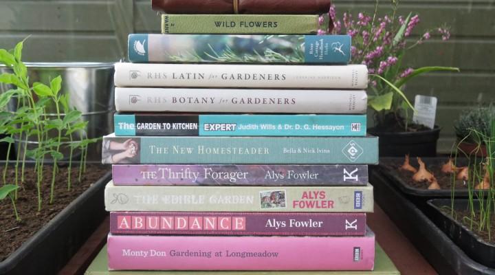 A Few of my Favourite Gardening Books