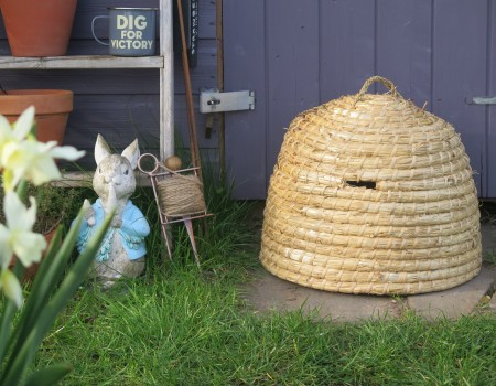 Traditional Bee Skep Hive