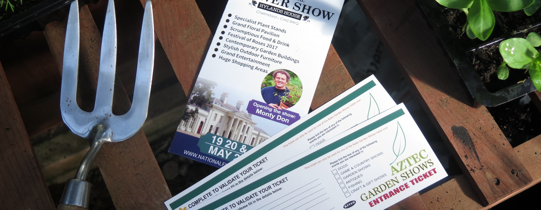 The National Flower Show Ticket Giveaway!