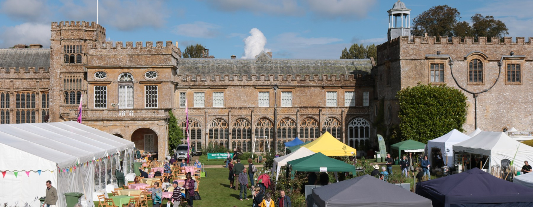 Toby's Garden Fest at Forde Abbey