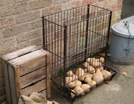 Vintage Rigidex Potato Storage