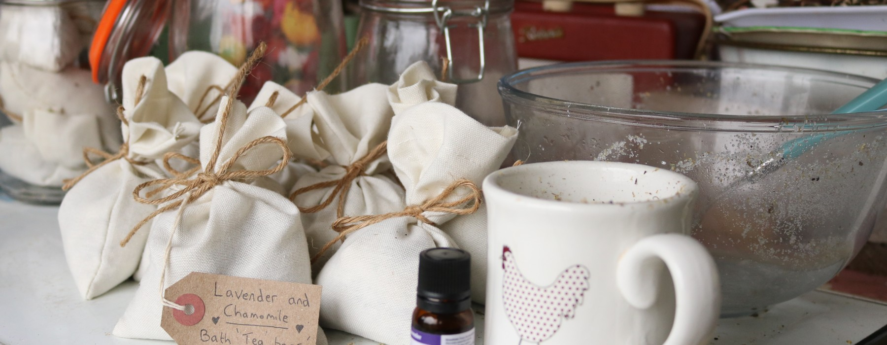 Herbal Bath 'Tea Bags'