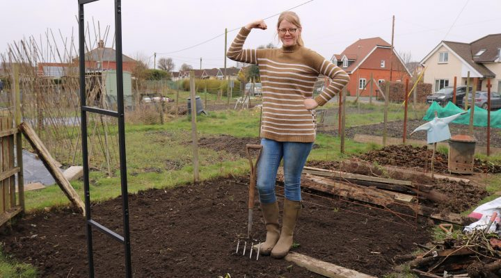 April 2018 – Sowing Radishes and Hard Graft
