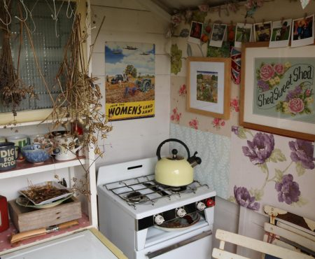 The Little Purple Potting Shed