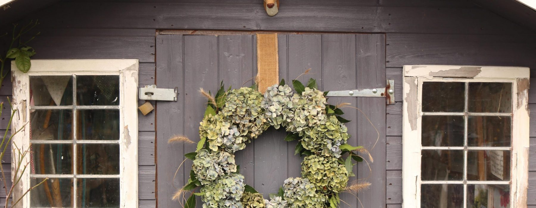 Homegrown Christmas Wreath