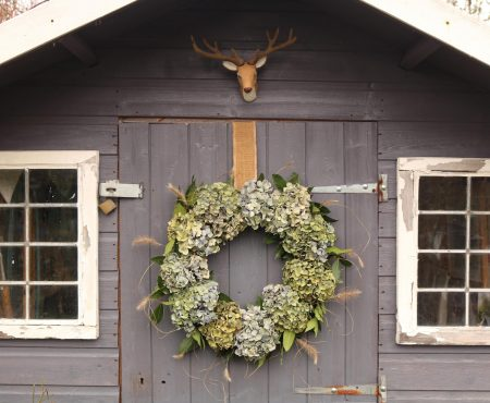 Homegrown Christmas Wreath