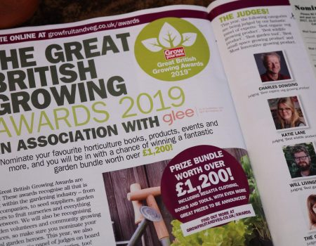 The Great British Growing Awards 2019