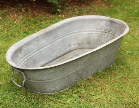 Baby Galvanised Bath Tub #6