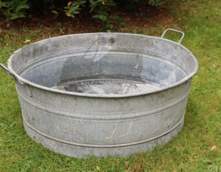 Round Shallow Tub – Medium #9