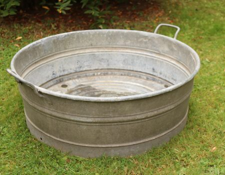 Round Shallow Tub – Medium #10