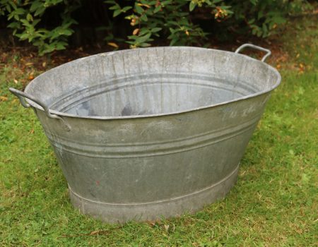 Galvanised Bath Tub #12