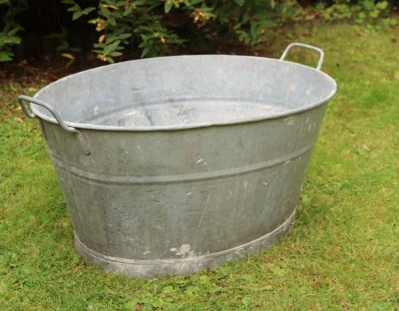 Galvanised Bath Tub #13