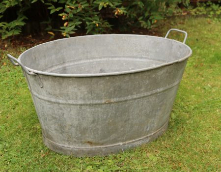 Galvanised Bath Tub #14