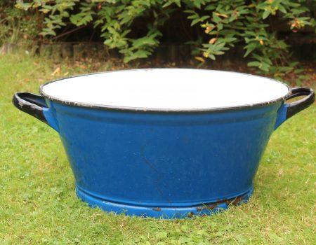 Blue Enamel Tub #20