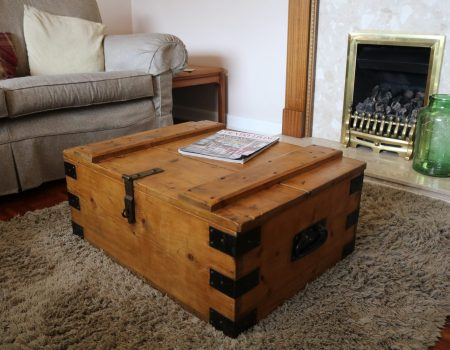 Wooden Trunk #13