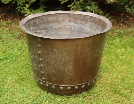 Riveted Copper Tub #2
