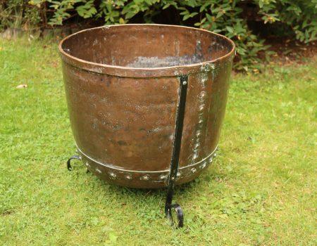 Riveted Copper Tub #4