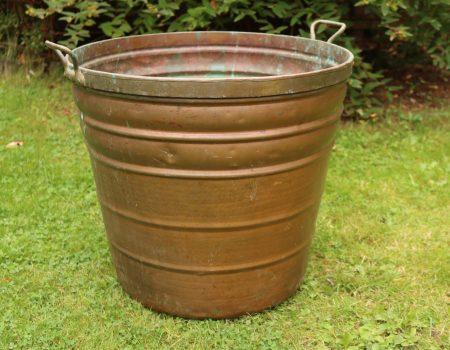 Large Copper Tub #5