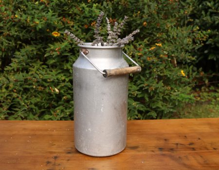 Small Aluminium Churn #2