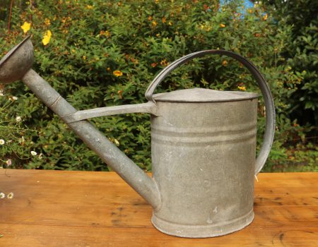 Galvanised Watering Can #7