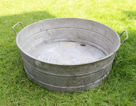 Galvanised Round Tub #2