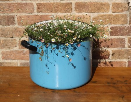 Light Blue Enamel Tub #25