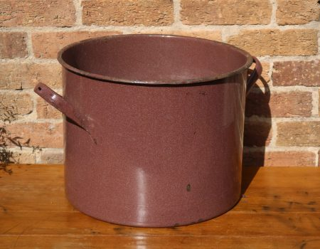 Brown Enamel Tub #28
