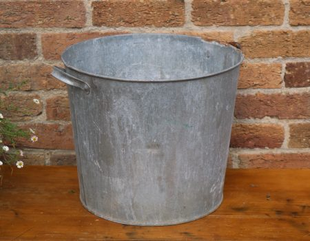 Galvanised Round Tub #13