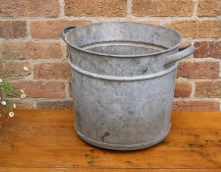 Galvanised Round Tub #14