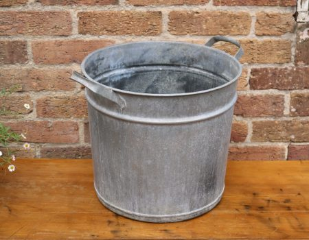 Galvanised Round tub #15