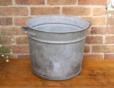 Galvanised Round Tub #17