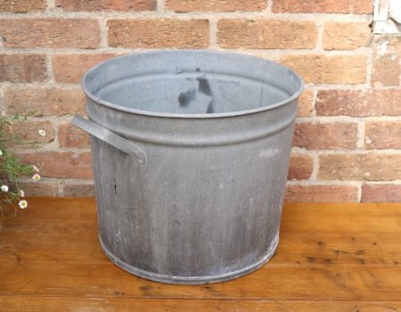 Galvanised Round Tub #18