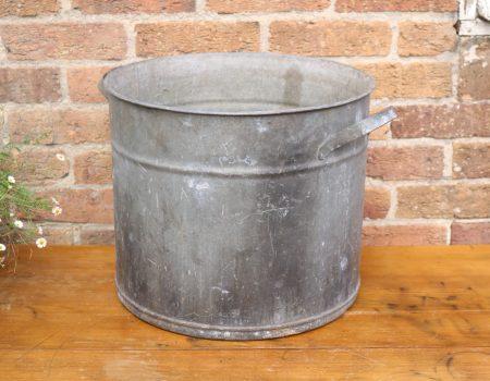 Galvanised Round Tub #19