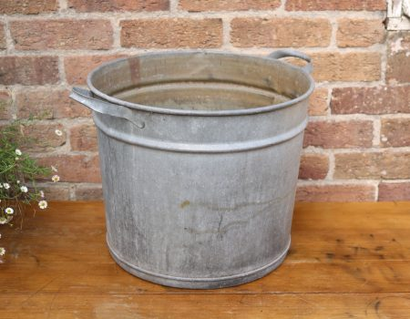 Galvanised Round Tub #20