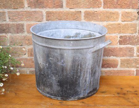 Galvanised Round Tub #21
