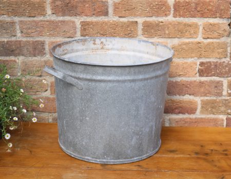 Galvanised Round Tub #22