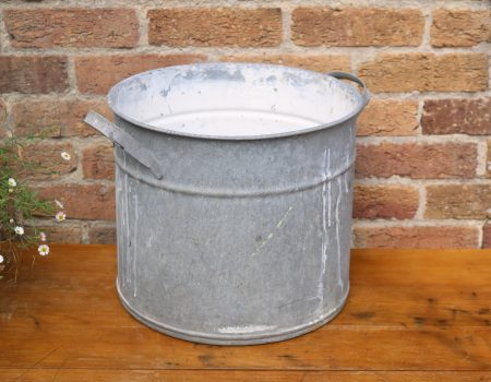 Galvanised Round Tub #24