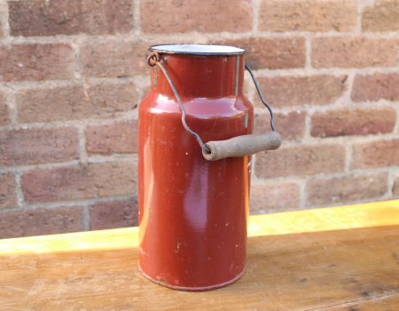 Red Enamel Churn #6