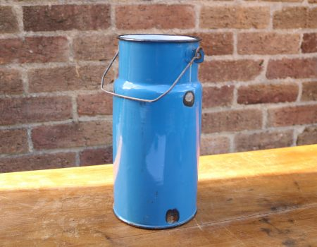 Blue Enamel Churn #8
